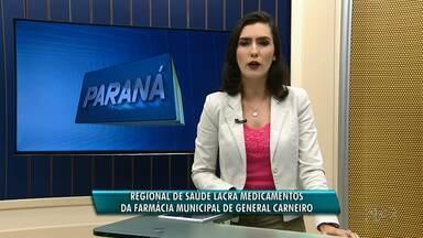 Remédios são recolhidos em postos de saúde de General Carneiro - Os medicamentos só poderão ser distribuídos por um farmacêutico.