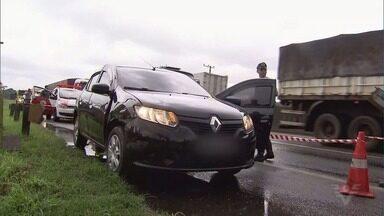 Motorista de aplicativo é morto por falso passageiro na Via Anchieta - Crime ocorreu no Km 63, nas proximidades da entrada de Santos, após suspeito solicitar uma corrida por meio de um aplicativo.