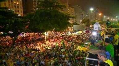 Prisão em segunda instância provoca manifestações em 23 estados e no DF - Manifestantes pediam a STF que negue habeas corpus ao ex-presidente Lula; em Belo Horizonte houve atos a favor e contra Lula.