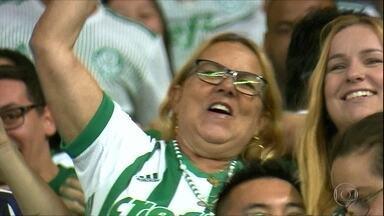 Palmeiras vence Alianza Lima com tranquilidade na Libertadores - Palmeiras vence Alianza Lima com tranquilidade na Libertadores