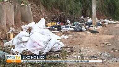 Região da Pampulha, em BH, tem o maior volume de descarte irregular de lixo - Por dia, são recolhidas cerca de 2,800 toneladas de lixo na cidade, segundo a prefeitura. Do total, 230 toneladas são de descarte clandestino.