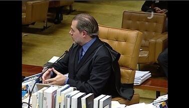 VEJA NO JG: Ministro Dias Toffoli vota a favor do habeas corpus de Lula - Placar está 5 x 2 contra o pedido da defesa do ex-presidente. A cobertura completa você acompanha mais tarde no #JornalDaGlobo