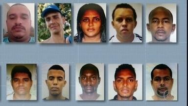 Sete integrantes de quadrilha que rouba cargas são presos - Os doze mandados de prisão começaram a ser cumpridos ainda na madrugada desta quarta-feira (4).