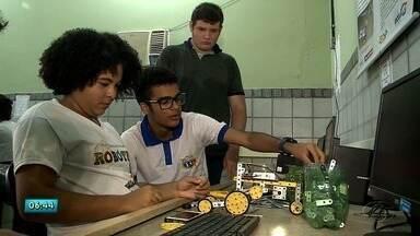 Estudo de robótica em escolas públicas de AL estimula a aprendizagem dos alunos - Pesquisa tem como objetivo desenvolver a aprendizagem do aluno de um modo geral.