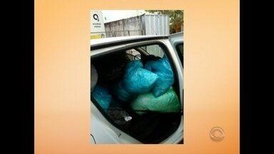 Denúncia mostra irregularidades na coleta e transporte de materiais de UBSs em Santa Maria - Nossa equipe acompanhou a rotina de um dos carros da prefeitura que realiza esse transporte.