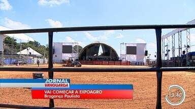 Expoagro começa em Bragança Paulista - Evento tem atrações como as cantoras como a dupla Maiara e Maraísa e a cantora Marília Mendonça.