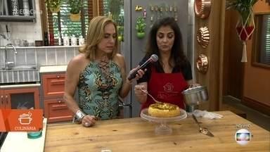 Magda Moraes ensina receita de Bolo de Aipim - Receita deliciosa não leva coco nem queijo
