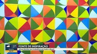 Exposição em Belo Horizonte homenageia o artista Athos Bulcão - Mostra poderá ser visitada até o dia 24 de junho no CCBB.