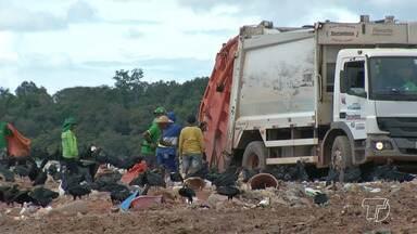Catadores do aterro sanitário de Santarém passam por adaptações - Galpões serão construídos para melhorar a seleção e a compostagem dos materiais que vão para o aterro.