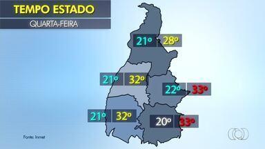 Quarta-feira de sol ou chuva? Veja a previsão do tempo em todo o Tocantins - Quarta-feira de sol ou chuva? Veja a previsão do tempo em todo o Tocantins