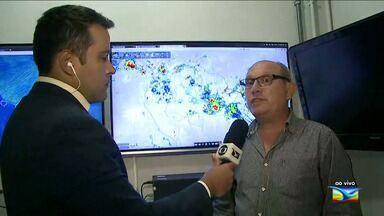 Veja a previsão da meteorologia para os próximos dias no Maranhão - O repórter Olavo Sampaio está no Núcleo de Meteorologia da Uema e possui mais informações sobre o caso.