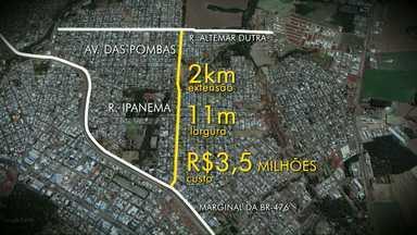 Prazo para concluir obras do PDI é discutido em Cascavel - Quase quase 20 por cento dos trabalhos ainda precisam ser feitos.