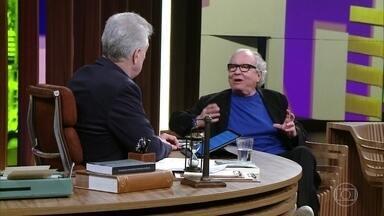 Washington Olivetto revela que sempre quis ser publicitário - Bial questiona o convidado sobre preconceitos que ele enfrentou ao escolher sua profissão