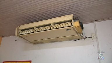 Após denúncia, poucas mudanças são realizadas em unidade do Conselho Tutelar de Manaus - Apenas dois aparelhos condicionadores de ar foram ajustados.