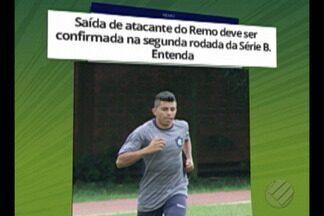 Felipe Marques deve deixar Clube do Remo - Atacante azulino tem acordo verbal com Londrina e deve assinar contrato quando time visitar Paysandu na Série B