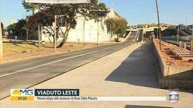 Alça do viaduto do Complexo da Lagoinha é liberada nesta sexta-feira em Belo Horizonte - Prefeitura disse que o novo acesso tenta descongestionar o tráfego na região central.