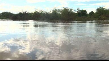 Fez um ano que as águas da transposição do Rio São Francisco chegaram ao Boqueirão - O cenário na Bacia hidráulica do açude de Boqueirão, está bem diferente depois de um ano.
