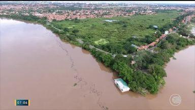 Meteorologia prevê cheia do Rio Poti e ainda mais chuvas para os próximos dias - Meteorologia prevê cheia do Rio Poti e ainda mais chuvas para os próximos dias