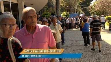 Anhanguera Notícias: Cerca de 800 pessoas são vacinadas em Cais de Goiânia - Veja todos os destaques do Anhanguera Notícias.