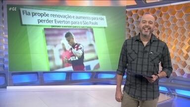 Flamengo faz proposta para renovar contrato de Everton Cardoso até 2020 - Flamengo faz proposta para renovar contrato de Everton Cardoso até 2020.