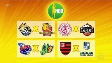 Definidos os confrontos das quartas-de-final do NBB - Definidos os confrontos das quartas-de-final do NBB.