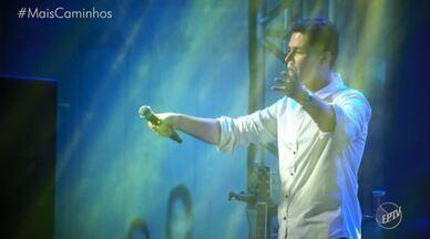 """Pedro Leonardo apresenta seu novo projeto pessoal - O Mais Caminhos foi conferir tudo o que rolou no evento de lançamento da palestras musical motivacional """"Novos Tempos"""", novo projeto do nosso apresentador."""