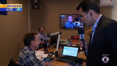 92.1 FM, rádio do Grupo RBS, estreia com programação especial - Assista ao vídeo.