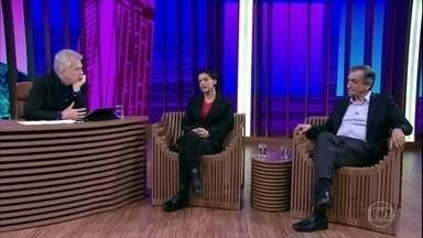 Marina e Antônio Cícero falam sobre amizade com Caetano Veloso - Caetano fez uma participação no segundo disco da cantora