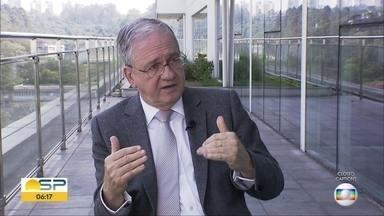 Ex-reitor da USP, Marco Antonio Zago é o novo secretário de Saúde de São Paulo - Ele substitui o médico David Uip, que deixou o cargo para reassumir direção na Faculdade de Medicina do ABC.