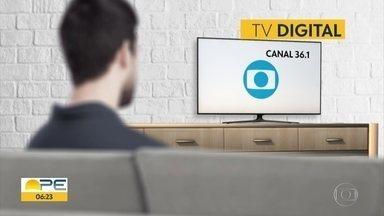 Canal da TV Globo muda em Bom Jardim no Agreste, a partir desta terça-feira (17) - Alteração atinge quem tem TV digital