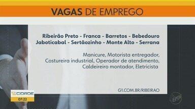 PATs e agências de RH oferecem 74 vagas de emprego na região de Ribeirão Preto - Costureira industrial, operador de atendimento e eletricista são algumas das oportunidades.