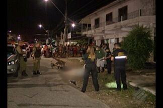 Vigilante foi executado no bairro do Telégrafo em Belém - Vigilante foi executado no bairro do Telégrafo em Belém