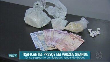 Em Várzea Grande teve prisão de traficantes e apreensão de drogas e dinheiro - Em Várzea Grande teve prisão de traficantes e apreensão de drogas e dinheiro