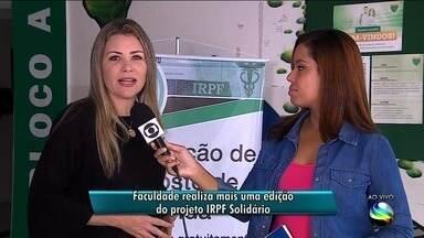 Faculdade realiza mais uma edição do projeto IRPF Solidário em Aracaju - Alunos do curso de ciências contábeis de uma faculdade aqui na capital vão realizam um projeto imposto de renda solidário para ajudar os contribuintes na declaração do Imposto de Renda 2018.