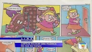 Cartilha distribuída pela Prefeitura de São José gera polêmica - Cartilha compara gordo a botijão.