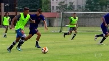 Vasco se prepara para enfrentar o Racing pela Libertadores - Vasco se prepara para enfrentar o Racing pela Libertadores