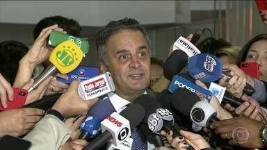 Aécio Neves vira réu no STF - Senador do PSDB vai responder por corrupção passiva e obstrução de justiça. Há outros oito inquéritos contra ele no Supremo.