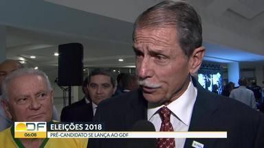 Eleições 2018: lançado mais um pré-candidato ao GDF - General Paulo Chagas é o nome do Partido Republicano Progressista para a disputa ao governo do Distrito Federal.