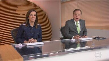 Bom Dia Brasil - Íntegra 19 Abril 2018 - O telejornal, com apresentação de Chico Pinheiro e Ana Paula Araújo, exibe as primeiras notícias do dia no Brasil e no mundo e repercute os fatos mais relevantes.