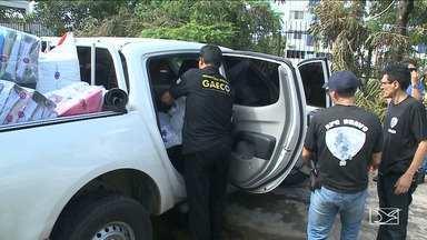 Polícia Civil e Ministério Público realizam operação em Santa Quitéria - Seis pessoas foram presas, entre elas o ex-prefeito da cidade, Osmar de Jesus Leal, o Manin.