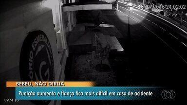 Aumenta a punição para motoristas bêbados que se envolverem em acidente, em Goiás - Pena aumentou, e delegados não poderão estipular fiança para presos.