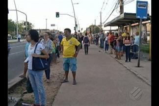 Greve de ônibus na Grande Belém afeta 1 milhão de pessoas - Greve de ônibus na Grande Belém afeta 1 milhão de pessoas