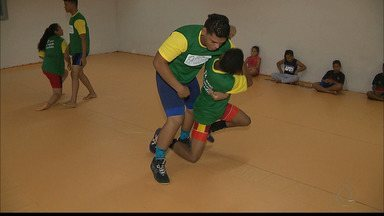 Paraibano se prepara para o Mundial de Luta Olímpica no Marrocos - Marcos Paulo, que já foi campeão dos Jogos Escolares e do Brasileiro Cadete, vai para a sua primeira competição fora do país.