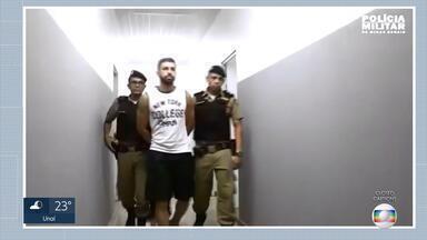 Soldado suspeito de matar ex e sequestrar filha é preso em Belo Horizonte - Crime aconteceu em Santos Dumont, na Zona da Mata mineira.