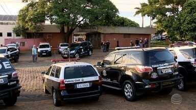 Presos na Operação Dâmocles são levados para cadeias do Oeste Paulista - Polícia Civil continua com investigações para identificar mais suspeitos.