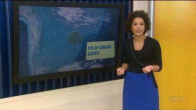 Veja como fica a previsão do tempo para o fim de semana - Pode chover agora a tarde no Noroeste.