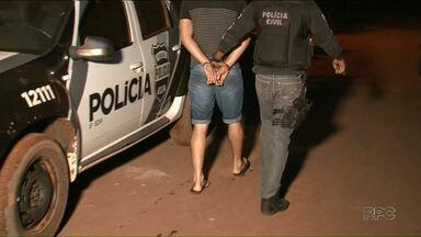 Polícia desarticula quadrilha de tráfico de drogas que agia na região Noroeste - Cinco pessoas foram presas. Duas estão foragidas.