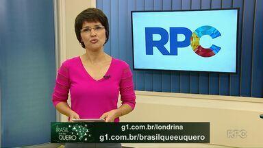 Dê a sua opinião sobre o Brasil que você quer para o futuro - Ainda dá tempo para que moradores de Cafeara, Guapirama e Itambaracá gravem um vídeo dizendo que Brasil eles querem para o futuro.