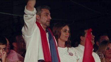 Mario Abdo Benítez é eleito presidente do Paraguai - O candidato do partido governista venceu o pleito com 46% dos votos.