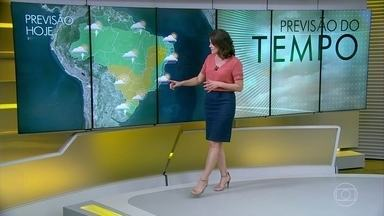 Semana será seca nas regiões mais centrais do país - Chuva vai ficar concentrada na faixa norte do Brasil.